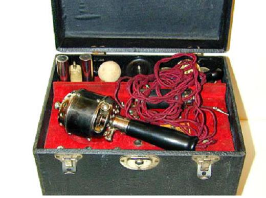 First vibrator invented